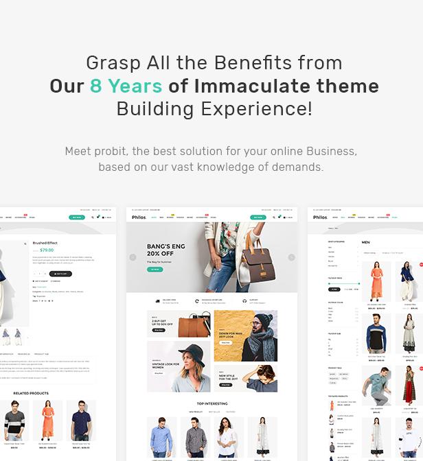 Philos - Responsive WooCommerce WordPress Theme - 4